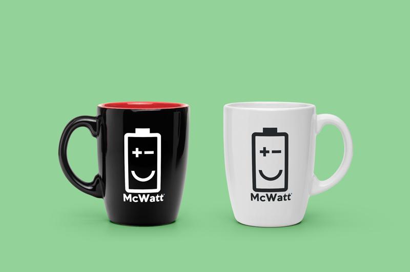mc watt logo design enrica michelon