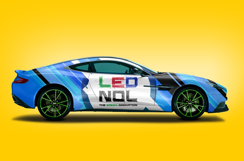 lednol logo design enrica michelon