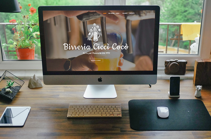 birreria ciccì cocò siti web wordpress enrica michelon