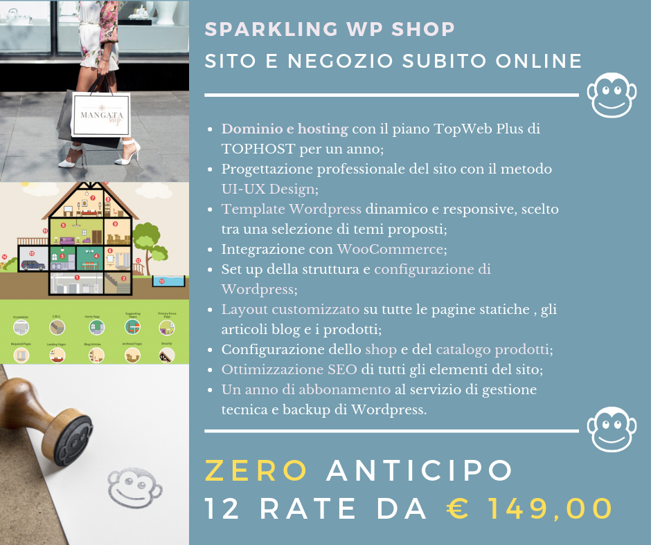 wp shop enrica michelon siti wordpress