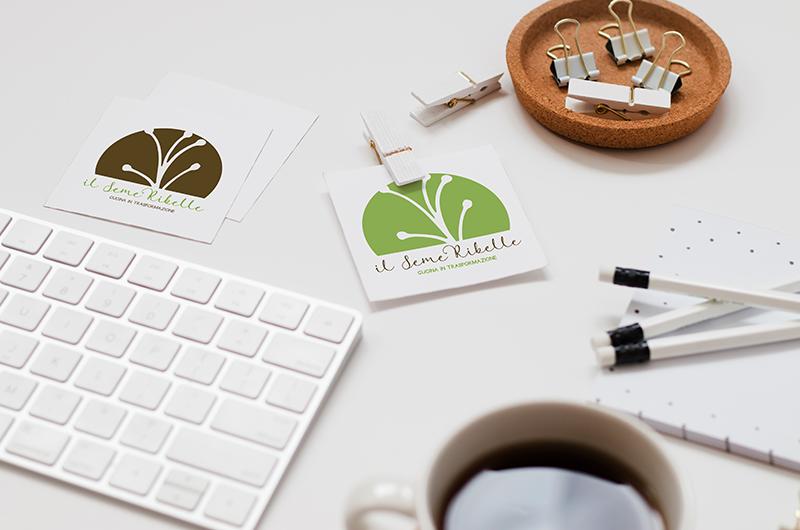 il seme ribelle logo design enrica michelon portfolio